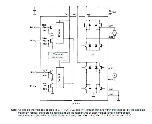 步进电机驱动 lb1836m 原装现货 报价0755-33062500 附技术资料 (pdf