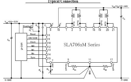 sla6805m电路图