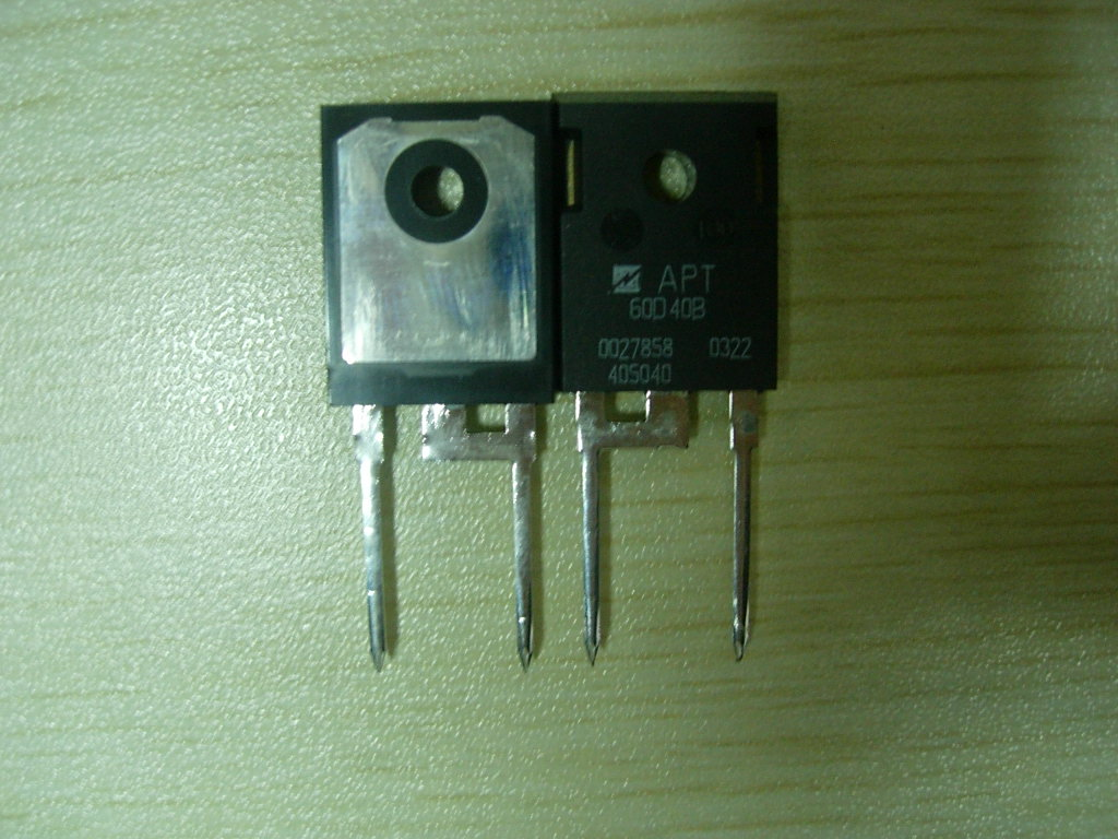 大功率 apt60d40b 快恢复二极管 原装特卖