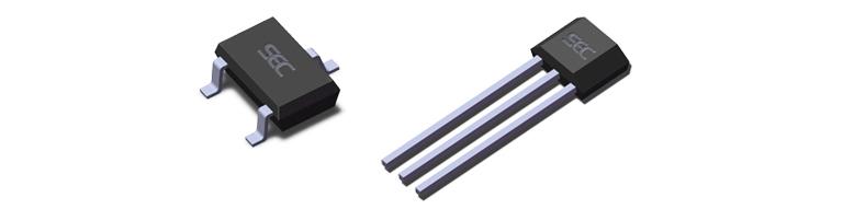详情  ss542是一个采用混合信号cmos技术制造的锁存型霍尔效应传感器i